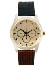 ASOS Two Colour Strap Watch