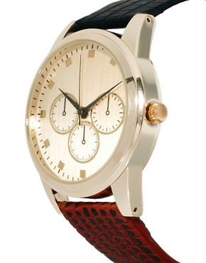 Image 3 ofASOS Two Colour Strap Watch