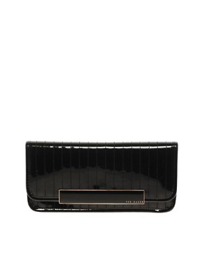 Image 1 ofTed Baker Enamel Clutch Bag