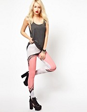 Voodoo Girl - Leggings con scritta &#39;Whatever&#39;