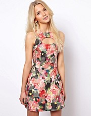 A Wear Lantern Dress In Print
