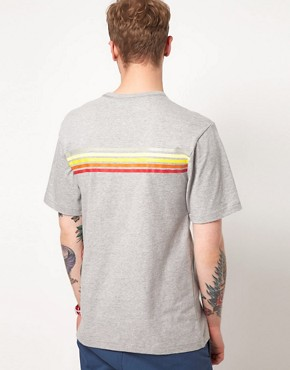 Image 2 ofThe Hundreds Haleakala Cut And Sew T-Shirt