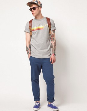 Image 4 ofThe Hundreds Haleakala Cut And Sew T-Shirt