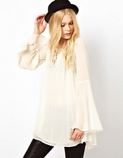 River Island Flute Sleeve Kaftan