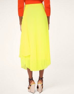 Image 2 ofMSGM Pleated Midi Skirt