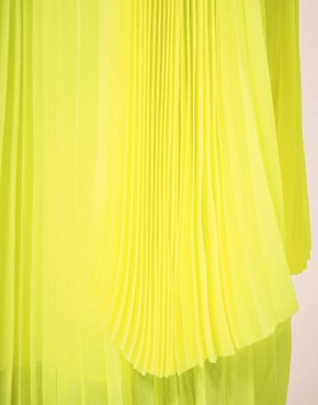 Image 3 ofMSGM Pleated Midi Skirt