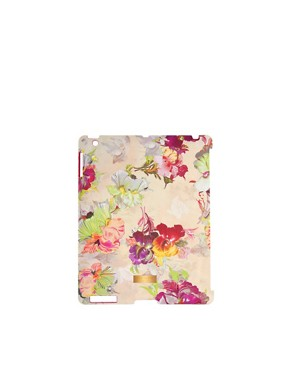 Image 1 ofTed Baker Isadora Orchid Print iPad Hard Case