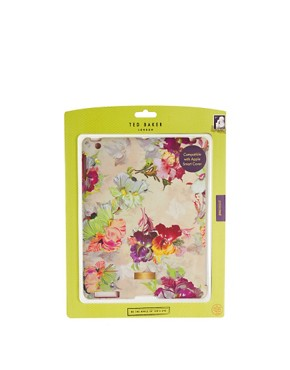 Image 3 ofTed Baker Isadora Orchid Print iPad Hard Case
