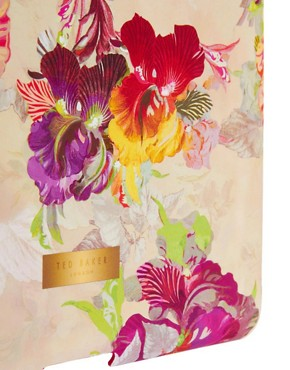 Image 4 ofTed Baker Isadora Orchid Print iPad Hard Case