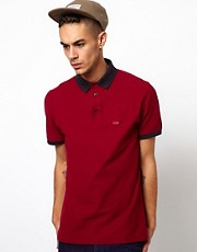 Barbour Polo with Contrast Collar