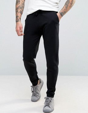 ASOS Skinny Joggers In Black