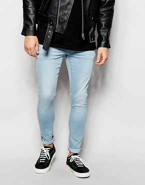 River Island Light Wash Super Skinny Jeans