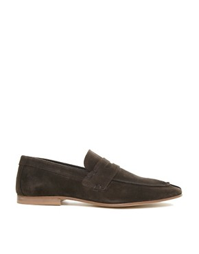 Image 4 ofASOS Penny Loafers in Suede