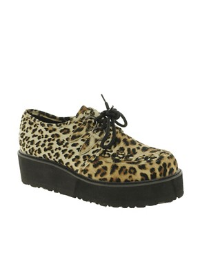 Image 1 ofASOS VIXON Flatform Creepers