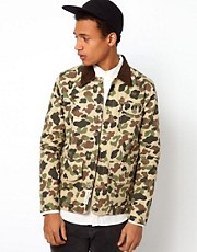 Bellfield Worker Camo Jacket