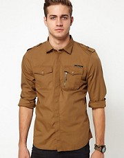 Diesel - Siranella - Camicia stile militare