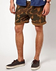 Suit Chino Jersey Camo Shorts