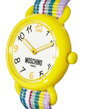 Image 4 ofMoschino Cheap &amp; Chic Fashion Must Go On Interchangeable Watch