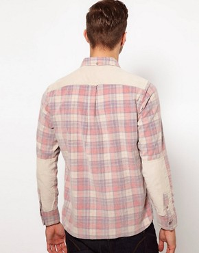 Image 2 ofRiver Island Shirt in Check Cord