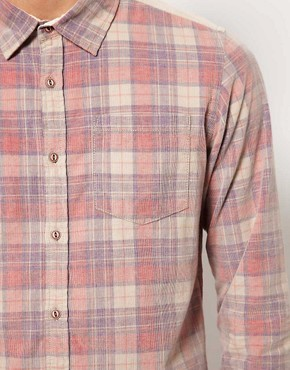 Image 3 ofRiver Island Shirt in Check Cord