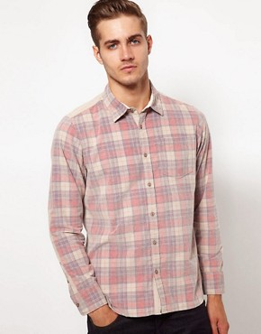 Image 1 ofRiver Island Shirt in Check Cord
