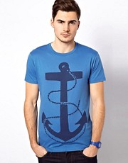 Jack & Jones - T-shirt stampata con ancore