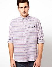 Denim Demon Shirt Aasa Horizontal Sami Stripe