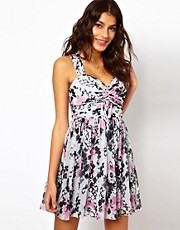 Lipsy Printed Skater Dress