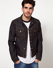 Nudie Denim Jacket Conny Dry Organic