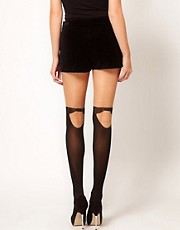 Pretty Polly Mock Hold Up Tights