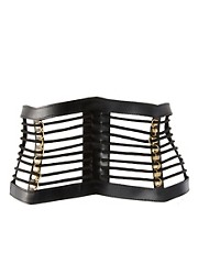 ASOS Leather Cage Waist Belt