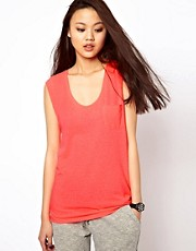 River Island Drop Armhole V-Neck Vest