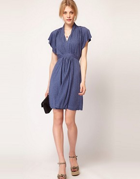 Image 4 ofFrench Connection Tie Waist Dress
