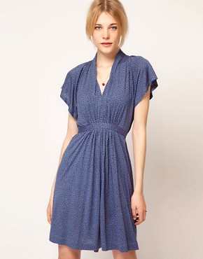 Image 1 ofFrench Connection Tie Waist Dress