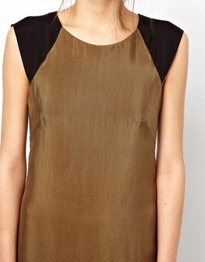 Image 3 ofFrench Connection Jet Drape Tunic Dress
