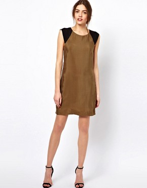 Image 4 ofFrench Connection Jet Drape Tunic Dress
