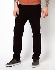WESC Jeans Eddy Slim Fit Black