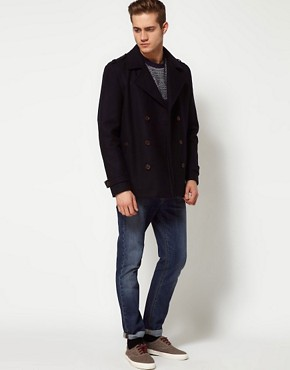 Image 4 of River Island Peacoat