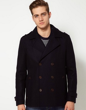 Image 1 of River Island Peacoat
