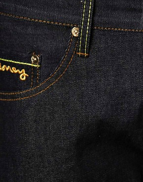 Image 3 ofMoney Jeans Blanks Regular Tapered Selvedge Gold Ape