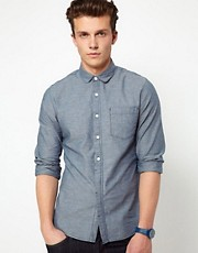 ASOS Neppy Chambray Shirt