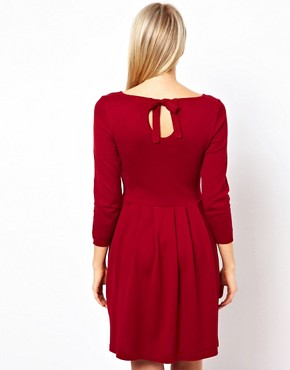 Image 2 ofASOS Knitted Bow Back Dress