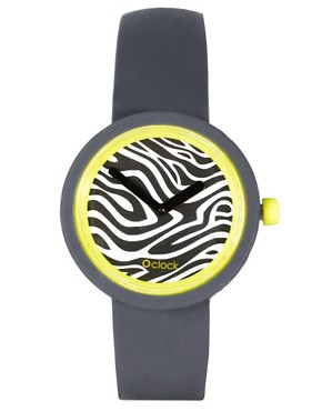Image 1 ofO&#39;Clock Zebra Safari Watch