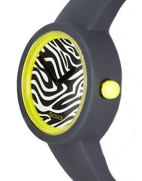 Image 3 ofO&#39;Clock Zebra Safari Watch