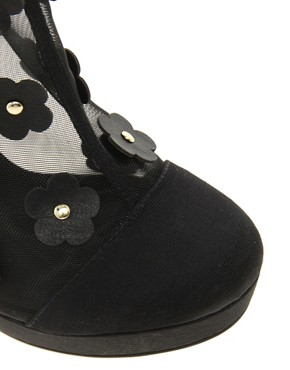 Image 3 of ASOS TAPDANCE Shoe Boots with Flowers