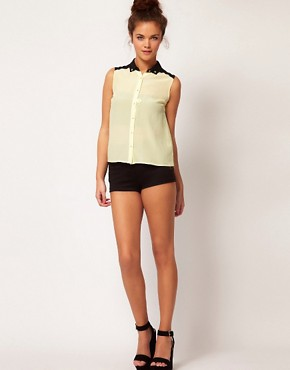 Bild 4 von River Island  Transparentes, rmelloses Hemd