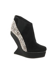 Senso Exclusive Vanetta Platform Wedge Ankle Boots