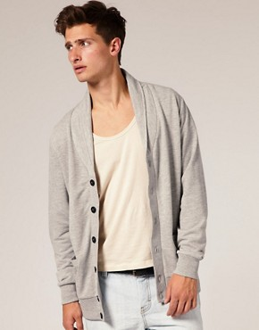 Image 1 ofASOS Shawl Collar Cardigan