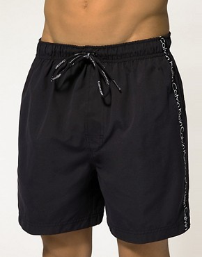 Image 1 ofCalvin Klein Logo Tape Swim Short