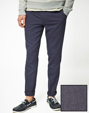 Image 1 ofASOS Skinny Fit Suit Trousers
